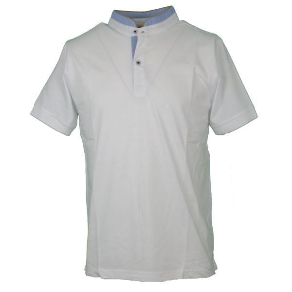 NEW YORK TAILORS 011.15 Bravos Ανδρικό Μπλουζάκι Λευκό 3