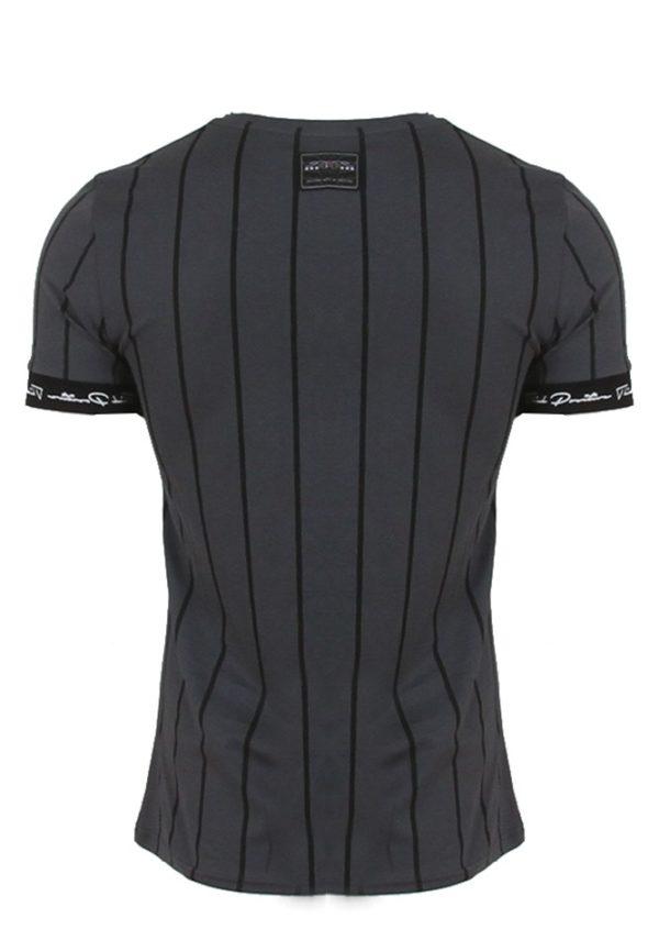 So-Fashion 79148 Ανδρικό Μπλουζάκι Γκρί Σκούρο 4