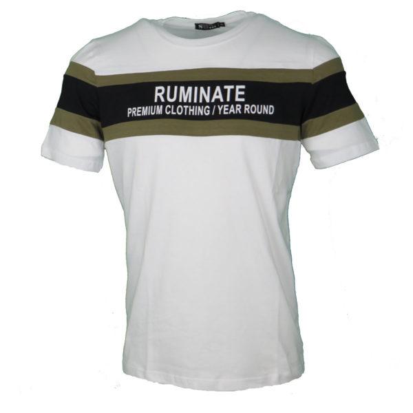 So Fashion 79118 Ανδρικό Μπλουζάκι Άσπρο 3