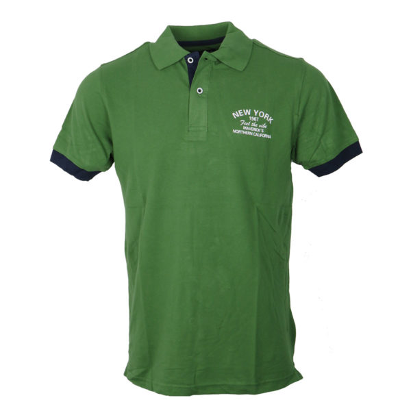 NEW YORK TAILORS 011.15.South Ανδρικό Μπλουζάκι Πράσινο 3