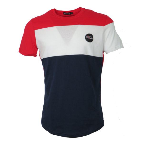 So Fashion 79136 Ανδρικό Μπλουζάκι Μπλέ 3