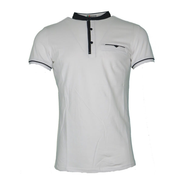 Privato A85147 Ανδρική Μπλούζα Λευκό 3