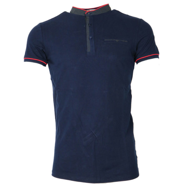 Privato A85147 Ανδρικό Μπλουζάκι Μπλέ 3