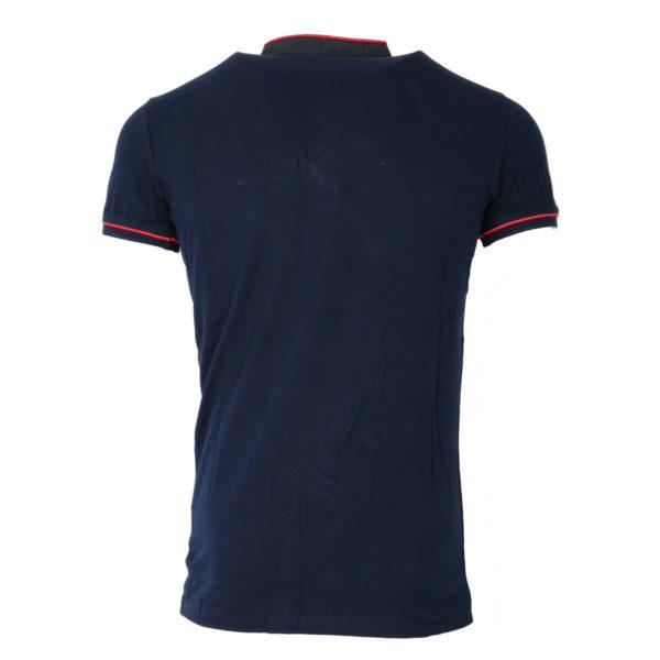 Privato A85147 Ανδρικό Μπλουζάκι Μπλέ 4