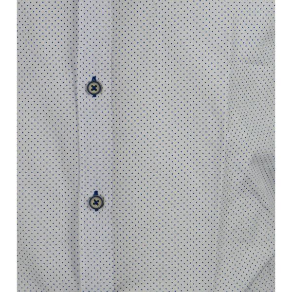 Brand's 805 Ανδρικό Πουκάμισο Λευκό 4