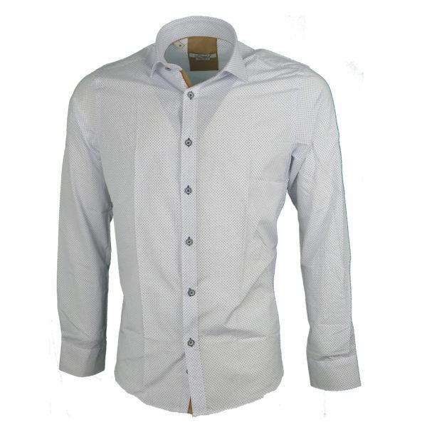 Brand's 805 Ανδρικό Πουκάμισο Λευκό 3