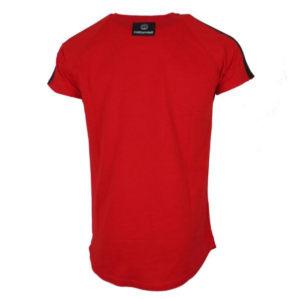 COTTON 4All 753 Ανδρικό Μπλουζάκι Κόκκινο 4
