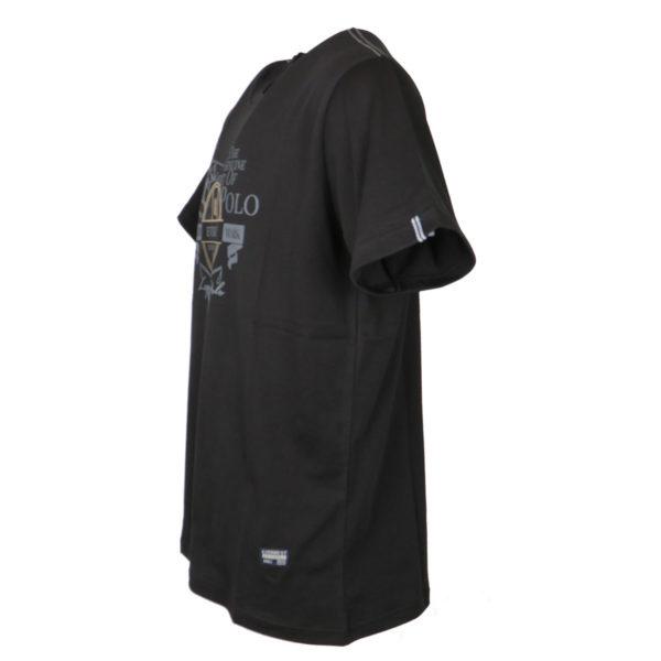 Everbest 19107 Ανδρικό Μπλουζάκι Μαύρο 5