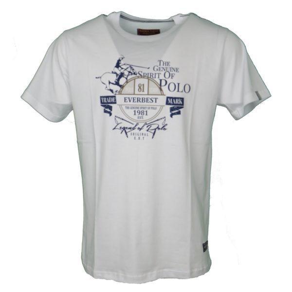 Everbest 19107 Ανδρικό Μπλουζάκι Λευκό 3