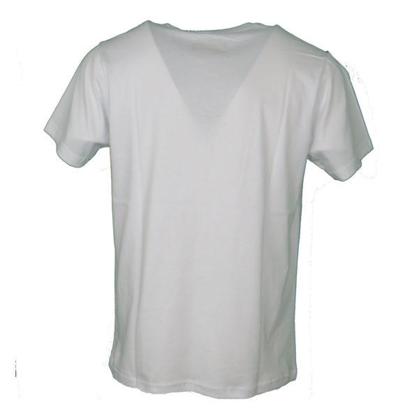 Everbest 19107 Ανδρικό Μπλουζάκι Λευκό 4