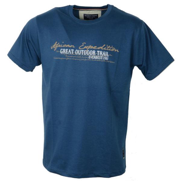 Everbest 19108 Ανδρικό Μπλουζάκι Ίντιγκο 3