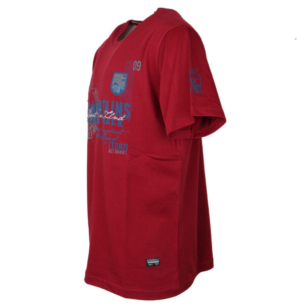 Everbest 19112 Ανδρικό Μπλουζάκι Κόκκινο 5