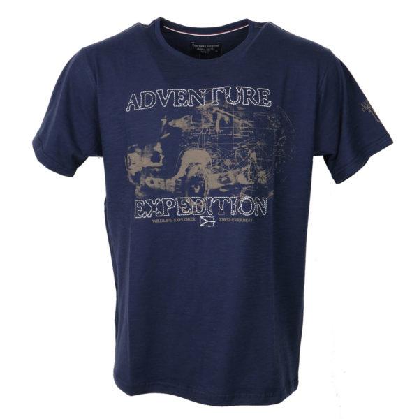 Everbest 19141 Ανδρικό Μπλουζάκι Μπλέ 3