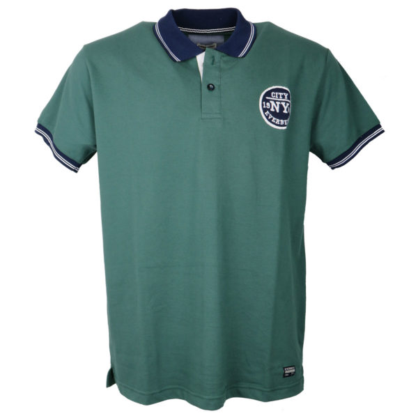Everbest RS18534 Ανδρικό Μπλουζάκι Πράσινο 3