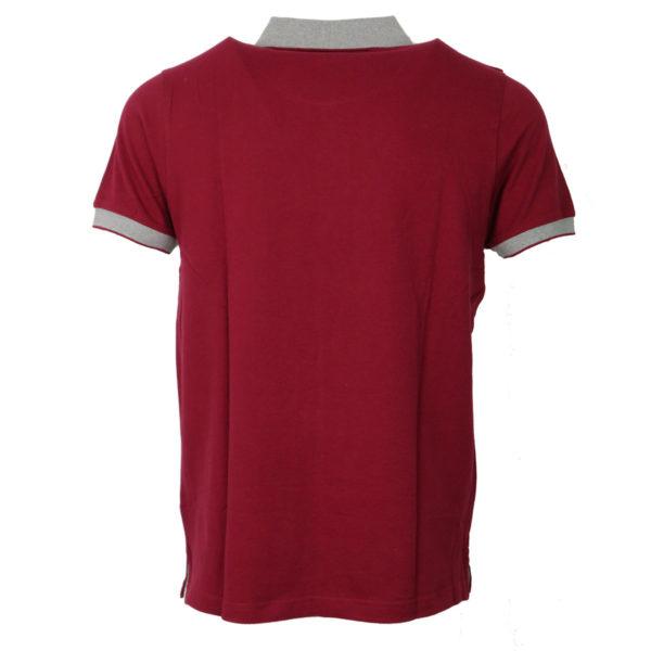 NEW YORK TAILORS 011.13 ROCKET Ανδρικό Μπλουζάκι Μπορντό 4
