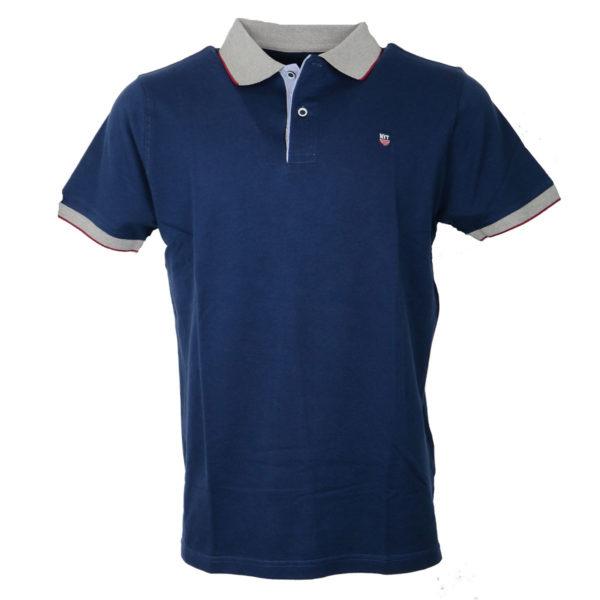 NEW YORK TAILORS 011.13 ROCKET Ανδρικό Μπλουζάκι Μπλε 3