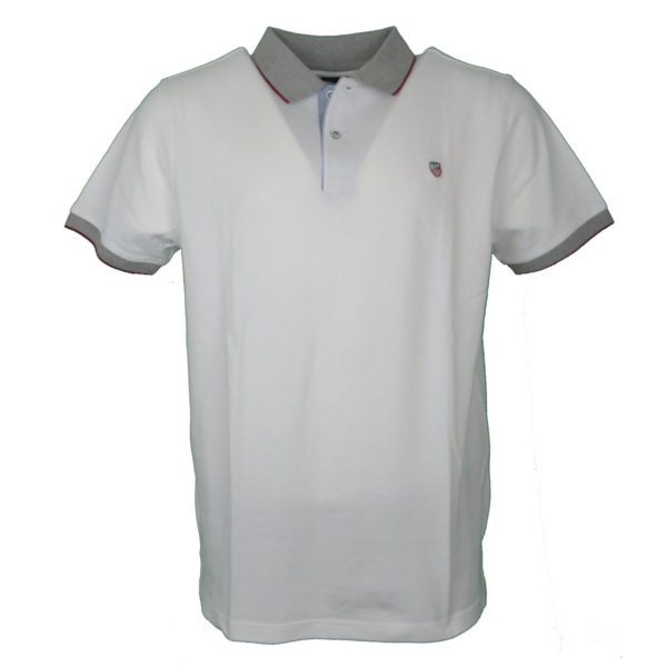 NEW YORK TAILORS 011.13 ROCKET Ανδρικό Μπλουζάκι Λευκό 3