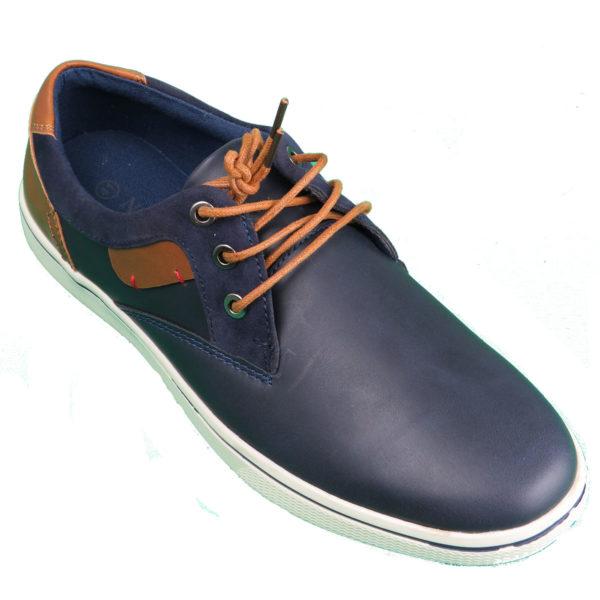 NEW YORK TAILORS 034.15 GABBY Ανδρικό Παπούτσι Μπλε 3