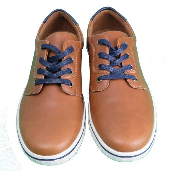 NEW YORK TAILORS  034.15 LEO Ανδρικό Παπούτσι Κάμελ 4