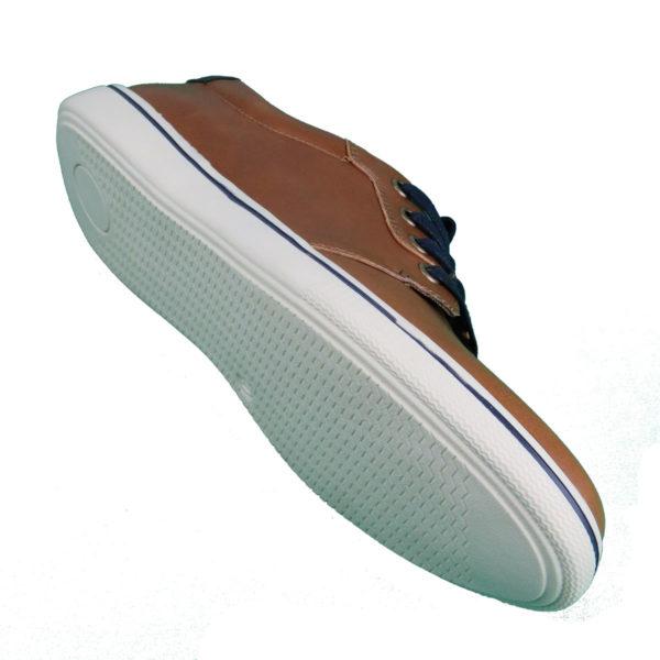 NEW YORK TAILORS  034.15 LEO Ανδρικό Παπούτσι Κάμελ 5