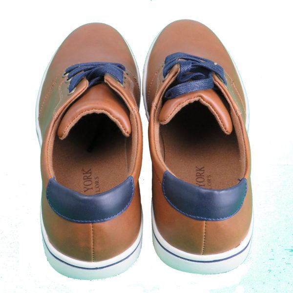 NEW YORK TAILORS 034.15 LEO Ανδρικό Παπούτσι Κάμελ 6