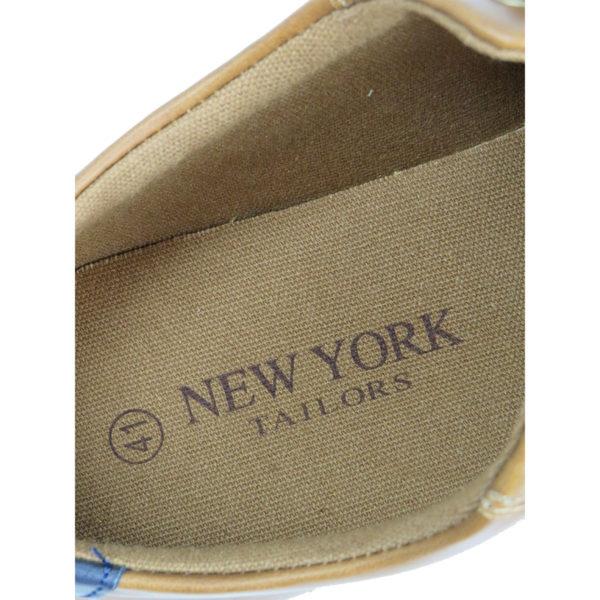 NEW YORK TAILORS  034.15 LEO Ανδρικό Παπούτσι Κάμελ 7