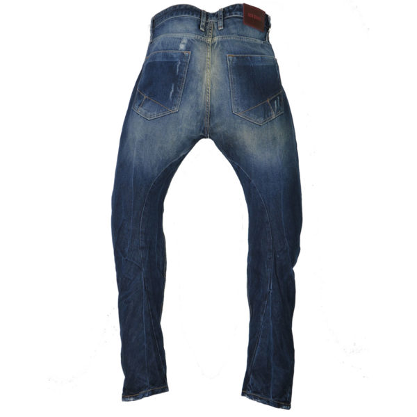 New Denim 1136 Ανδρικό Παντελόνι Μπλε 4