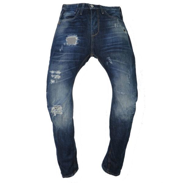 New Denim 1136 Ανδρικό Παντελόνι Μπλε 3