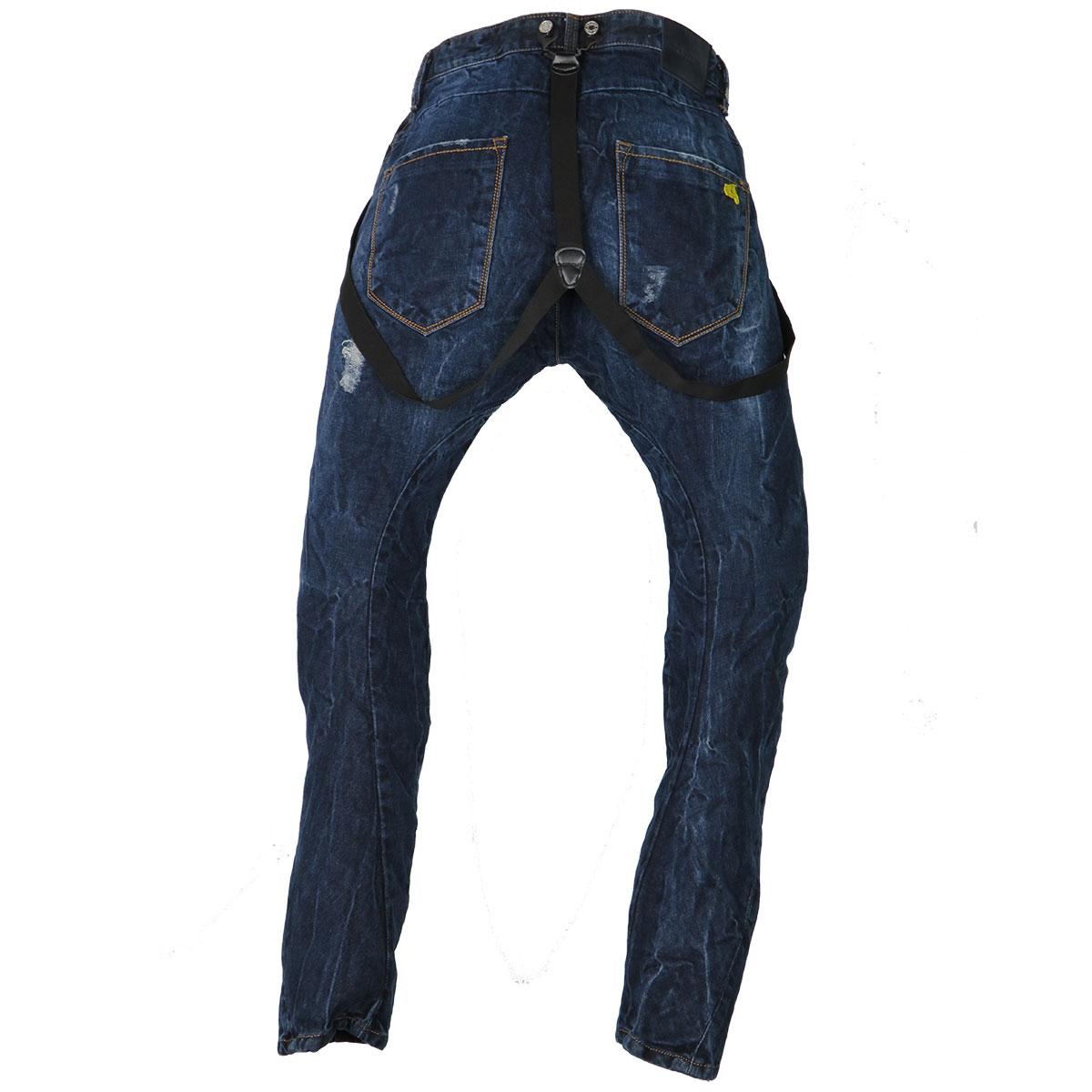 3adb95588d1 New Denim 1212 Ανδρικό Παντελόνι Μπλε - Privato