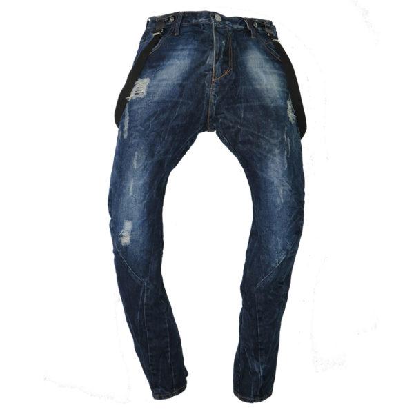 New Denim 1212 Ανδρικό Παντελόνι Μπλε 3