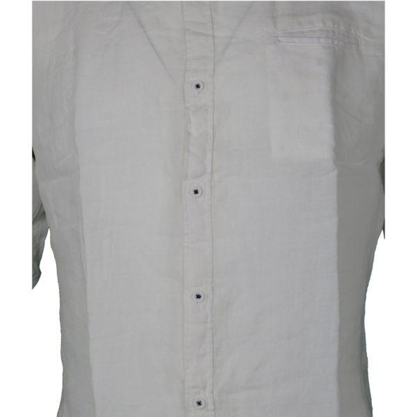 Privato 5522-5 Ανδρικό Πουκάμισο Λευκό 4