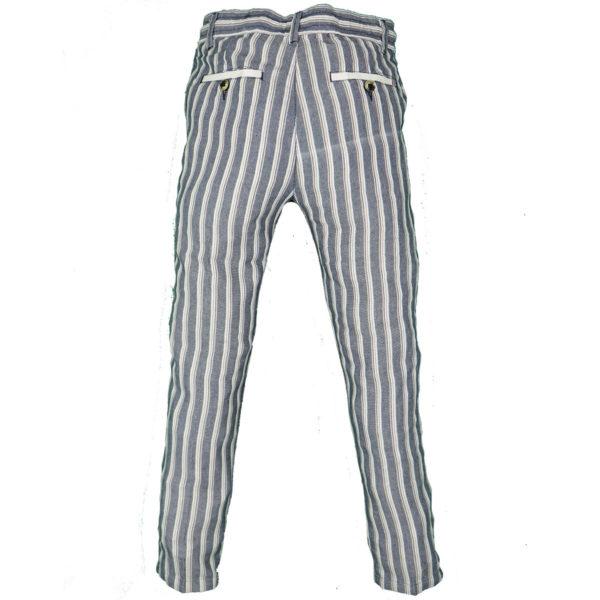 Privato PA2025 Ανδρικό Παντελόνι Λευκό 4