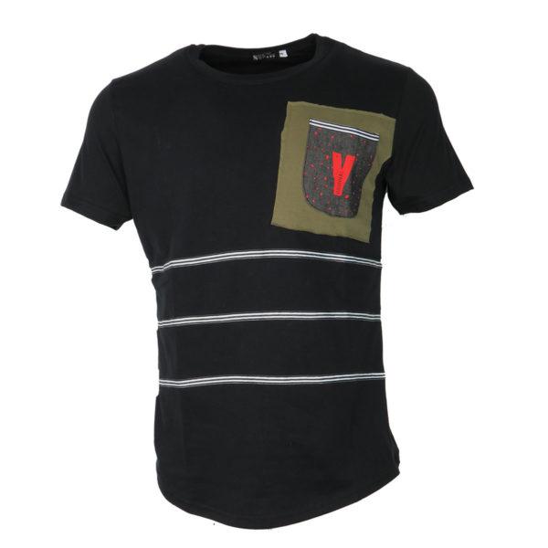 So Fashion 79102 Ανδρικό Μπλουζάκι Μαύρο 3
