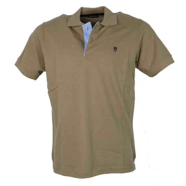 Unique 401 Ανδρικό Μπλουζάκι Μπεζ Σκούρο 3