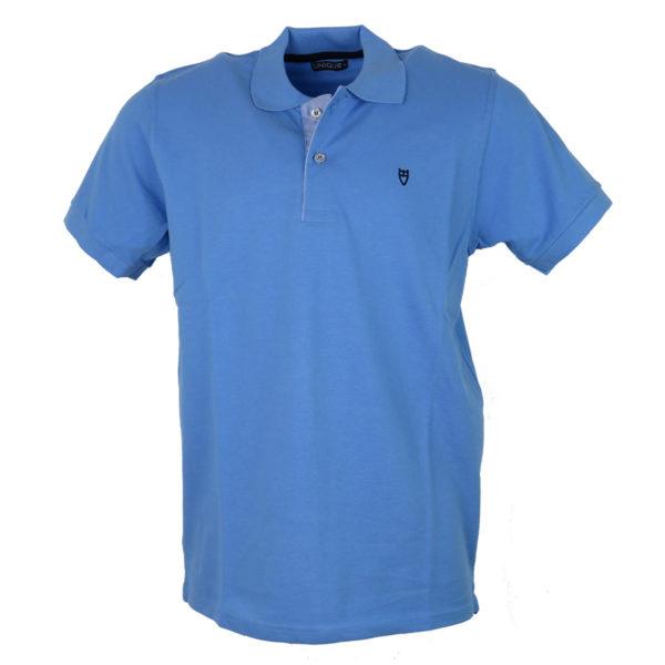 Unique 401 Ανδρικό Μπλουζάκι Σιέλ 3