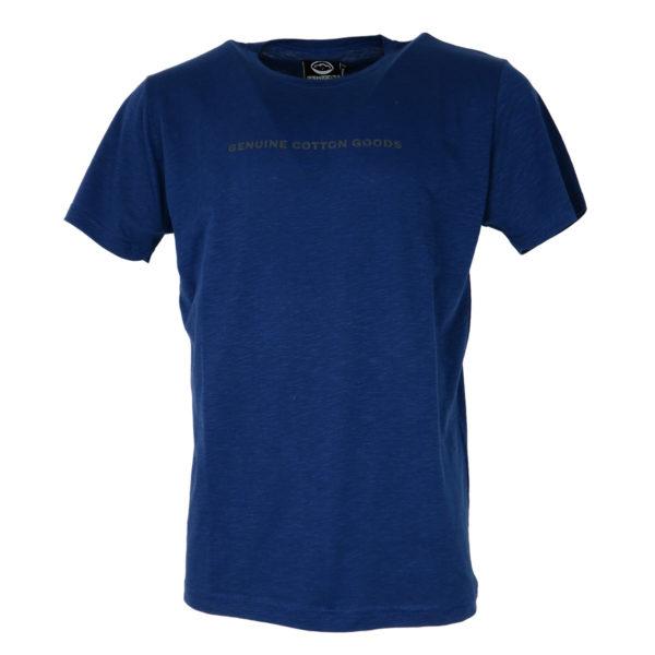 Cotton 4All 19-732 Ανδρική Μπλούζα Ίντιγκο 3