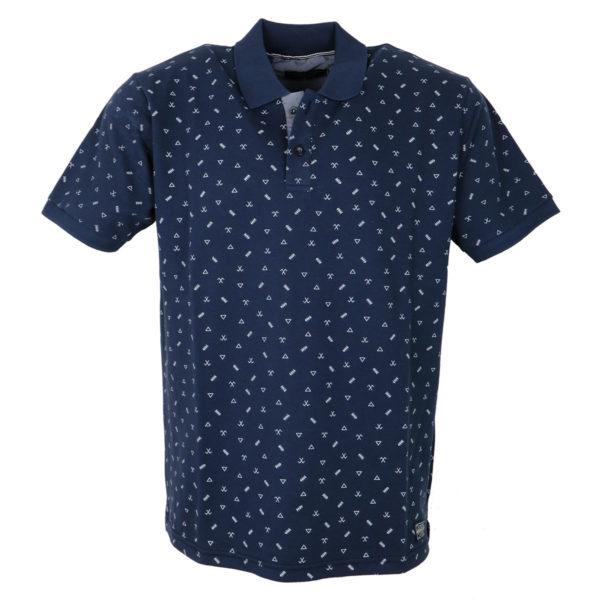 Everbest 19123 Ανδρικό Μπλουζάκι Μπλε 3
