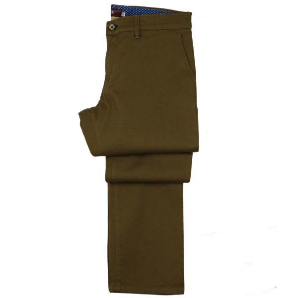 Hi Jack Γ5100 Ανδρικό Παντελόνι Κάμελ 3