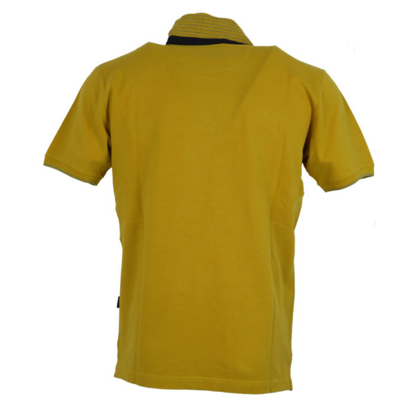 Side Effect 157 Ανδρικό Μπλουζάκι Μουσταρδί 5