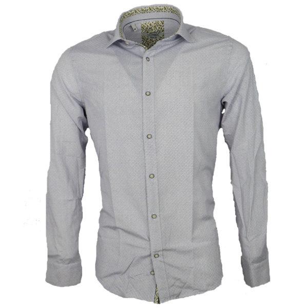 Brand's 701 Δ Ανδρικό Πουκάμισο Λευκό 4