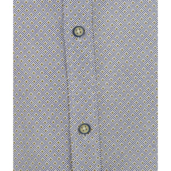 Brand's 701 Δ Ανδρικό Πουκάμισο Λευκό 5