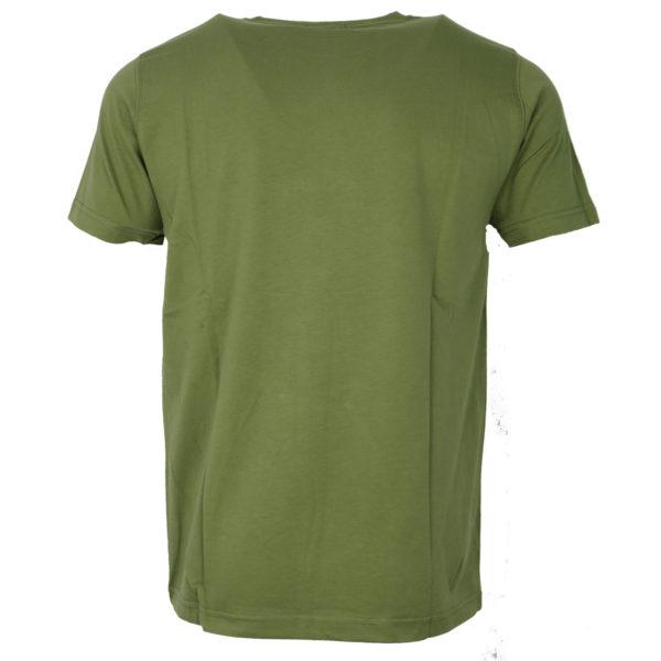 NEW YORK TAILORS 012.15.ISLAND COLOR 11 OLIVE Ανδρικό Μπλουζάκι Λαδί 4