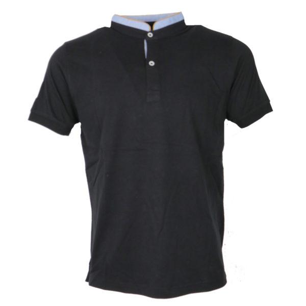 NEW YORK TAILORS 011.15.BRAVOS 9 BLACK Ανδρικό Μπλουζάκι Μαύρο 4