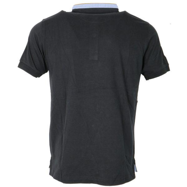 NEW YORK TAILORS 011.15.BRAVOS 9 BLACK Ανδρικό Μπλουζάκι Μαύρο 5