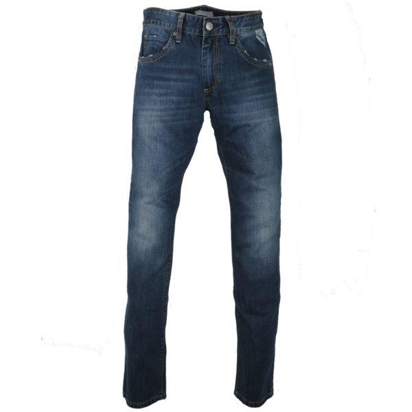 SHAFT DM770 Ανδρικό Παντελόνι Μπλε 3