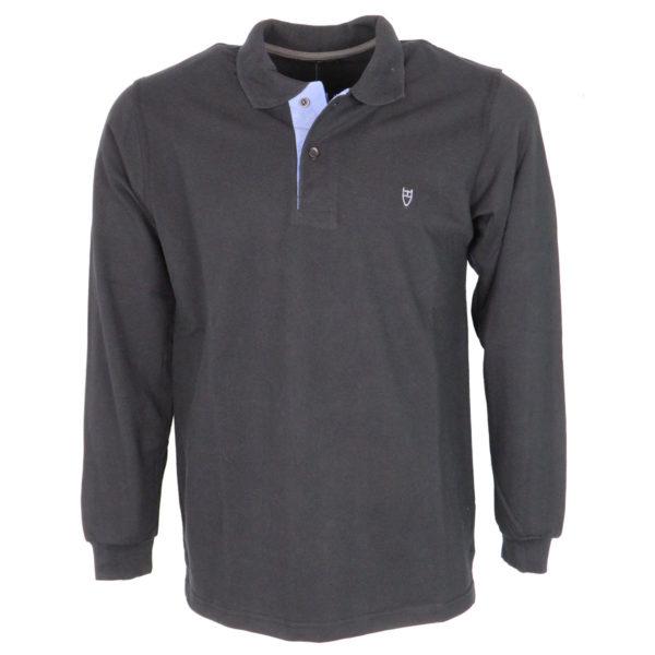 UNIQUE 401A Ανδρικό Μπλουζάκι Μαύρο 3