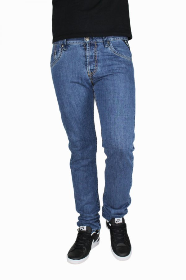 SHAFT SM723 Ανδρικό Παντελόνι Μπλε 3