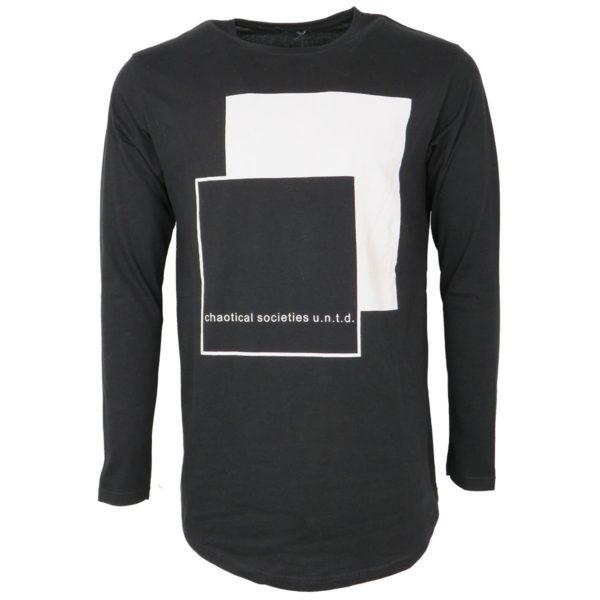 PRIVATO 06-310 Ανδρικό Μπλουζάκι Μαύρο 3