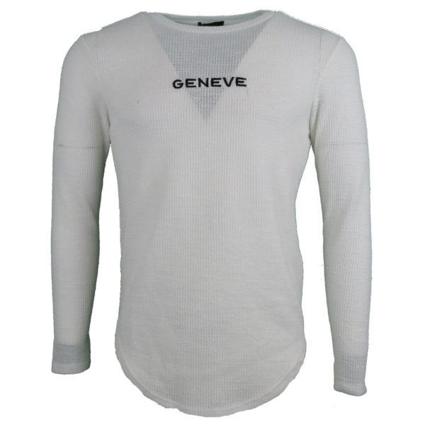 Privato Y 2014 Ανδρική Μπλούζα Λευκό 3