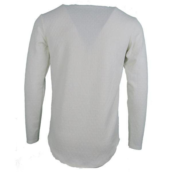 Privato Y2004 Ανδρικό Μπλουζάκι Εκρού 4